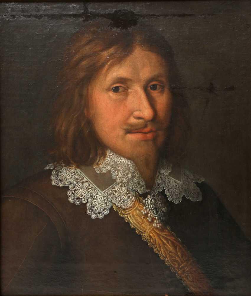 """MALER des 17. Jahrhundert, """"Ratsherr Andreas Eckhard"""" - photo 1"""