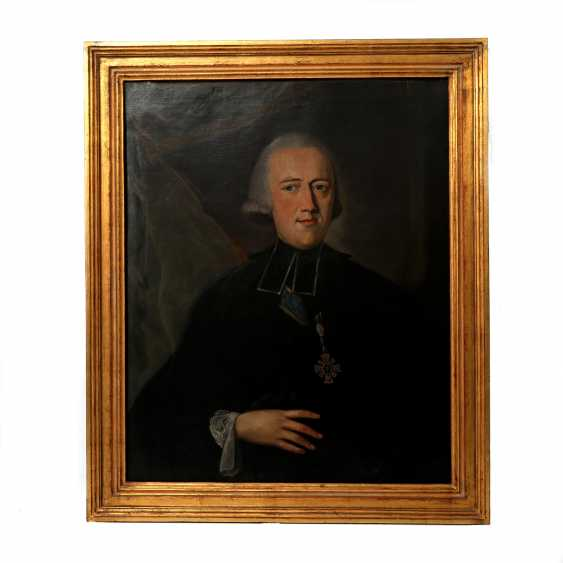 "KLEEMANN, JOHANN WOLFGANG (1731-1782), ""Clemens Wenzeslaus of Saxony, the elector of Saxony and Trier, and Prince Probst to Ellwangen (1739-1812)"" - photo 2"