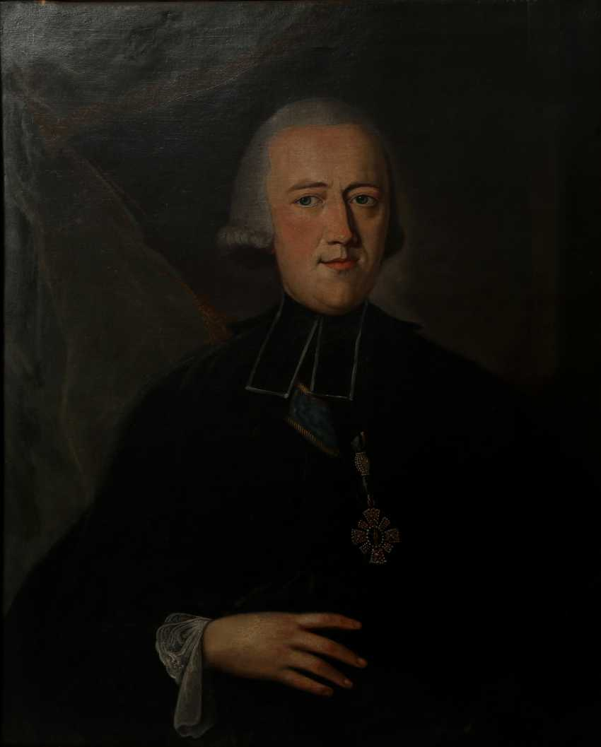 "KLEEMANN, JOHANN WOLFGANG (1731-1782), ""Clemens Wenzeslaus of Saxony, the elector of Saxony and Trier, and Prince Probst to Ellwangen (1739-1812)"" - photo 1"