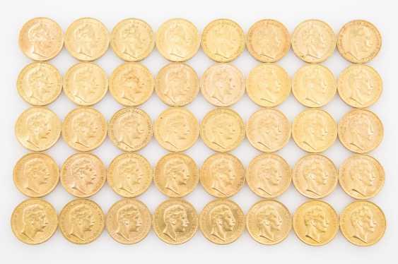 Preussen/GOLD - 40 x 20 Goldmark, Wilhelm II., - photo 1