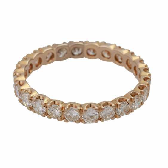 Memoire кольцо с 24 бриллиантами, вместе около 1,68 ct, LGW-GW (J-K)/SI, - фото 1