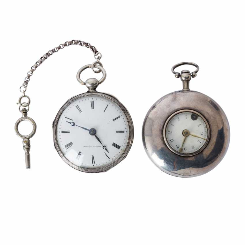 Group of Two pocket watches, approx. 18./19. Century, - photo 1