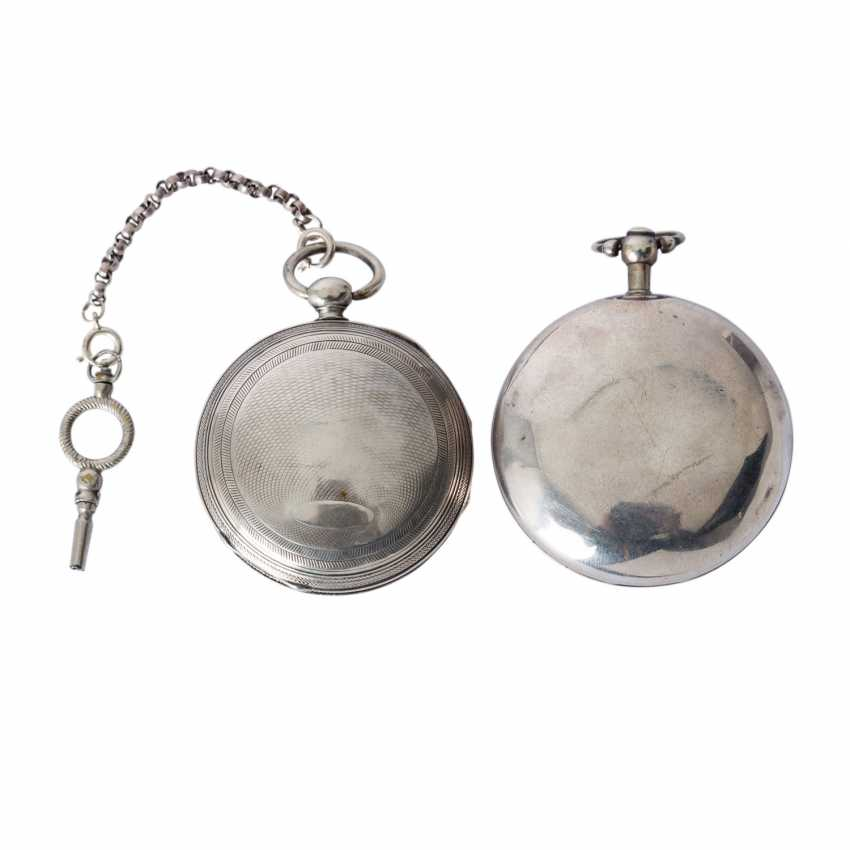 Group of Two pocket watches, approx. 18./19. Century, - photo 2