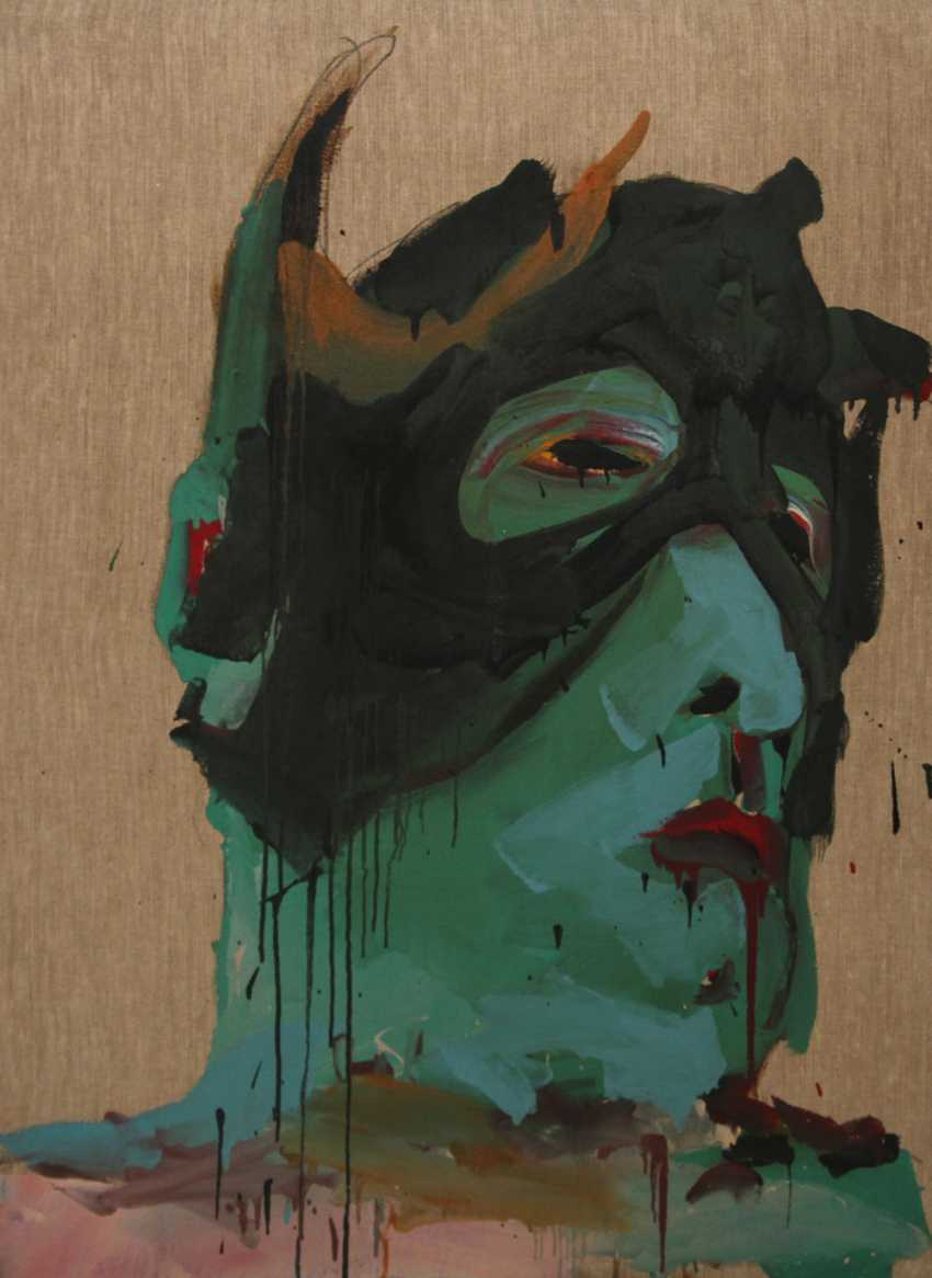 "WINTERSBERGER, LAMBERT MARIA (1941-2013): ""a monk III"", 1981. - photo 1"