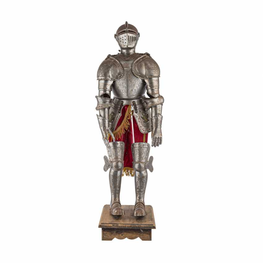 Small decorative knight's armor is probably the end of 19./At the beginning of 20. Century, - photo 1