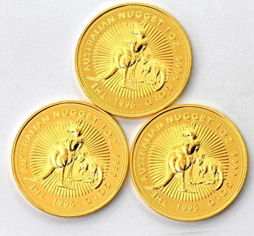Beautiful gold Australia from group - consisting of - photo 1