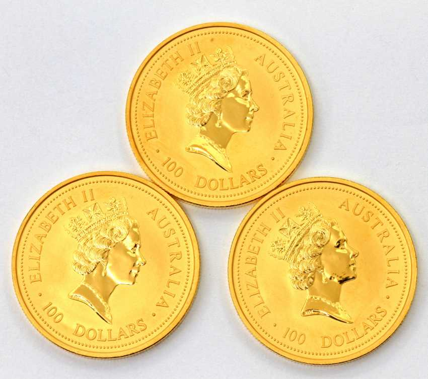 Beautiful gold Australia from group - consisting of - photo 2