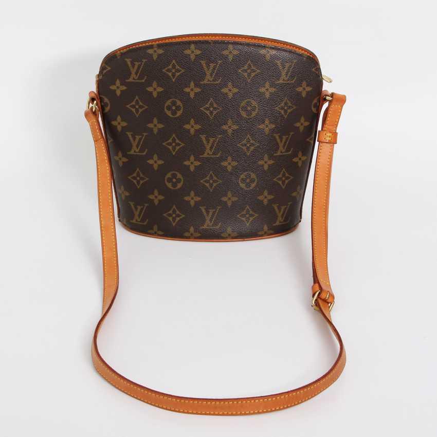 """LOUIS VUITTON VINTAGE distinctive shoulder bag """"DROUOT"""", collection 2000. - photo 1"""