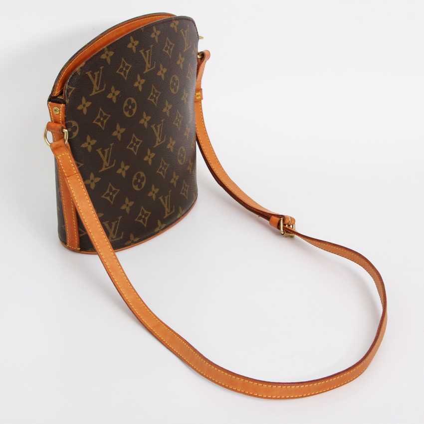 """LOUIS VUITTON VINTAGE distinctive shoulder bag """"DROUOT"""", collection 2000. - photo 2"""