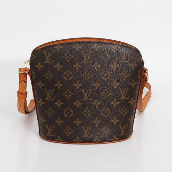 """LOUIS VUITTON VINTAGE distinctive shoulder bag """"DROUOT"""", collection 2000. - photo 4"""
