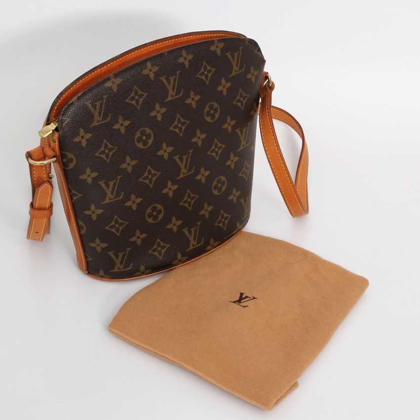 """LOUIS VUITTON VINTAGE distinctive shoulder bag """"DROUOT"""", collection 2000. - photo 5"""