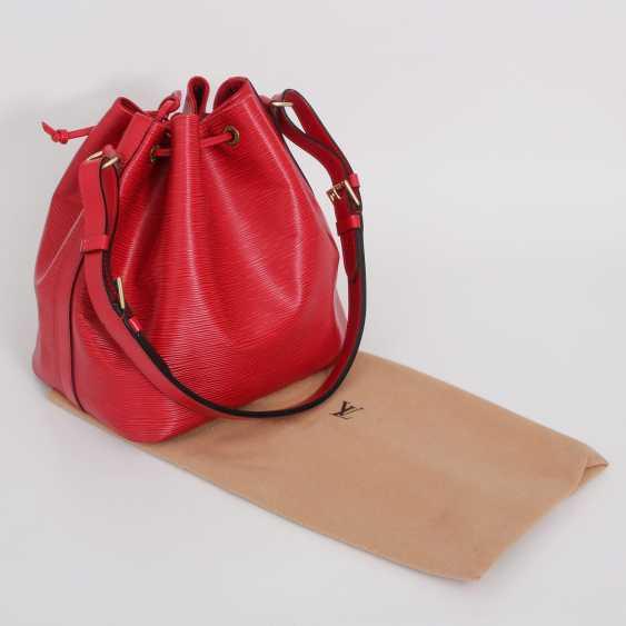 """LOUIS VUITTON VINTAGE cult shoulder bag """"NOÉ PM """", collection 1998. - photo 4"""