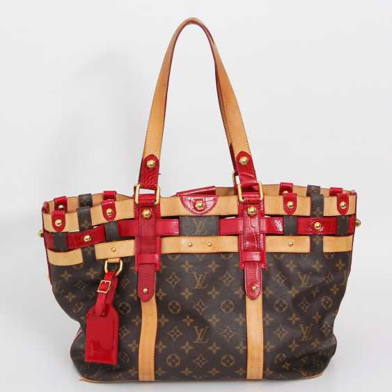 "LOUIS VUITTON elegant shoulder bag ""SALINA GM RUBIS"", collection 2007. - photo 1"