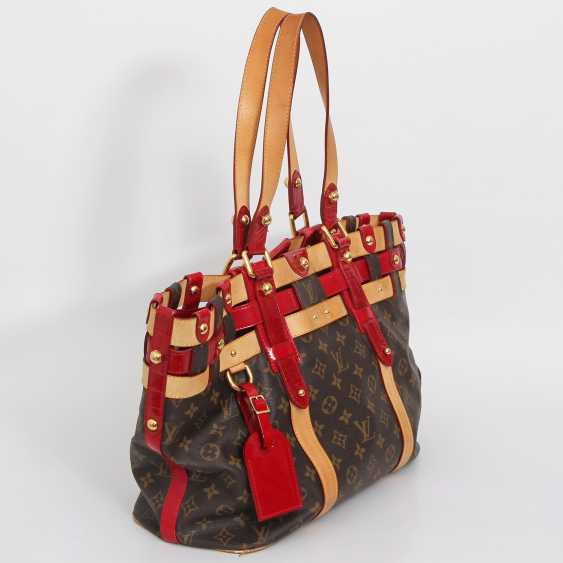 "LOUIS VUITTON elegant shoulder bag ""SALINA GM RUBIS"", collection 2007. - photo 2"