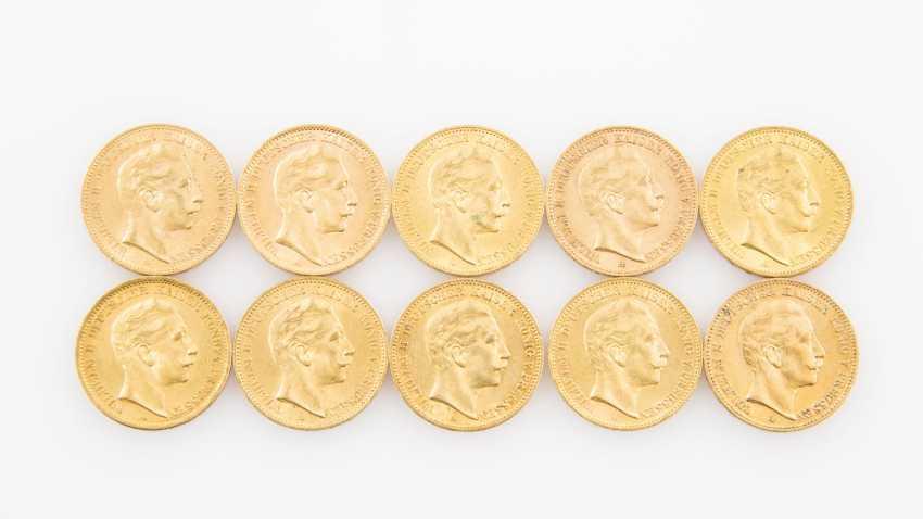 Preussen/GOLD - 10 x 20 Goldmark, Wilhelm II., - photo 1