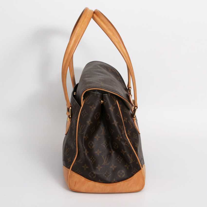 "LOUIS VUITTON edle City Bag ""BEVERLY GM"", Kollektion 2006. - photo 3"