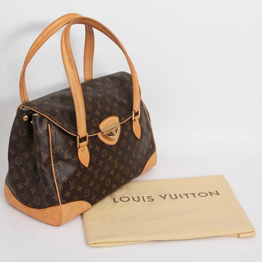 "LOUIS VUITTON edle City Bag ""BEVERLY GM"", Kollektion 2006. - photo 5"
