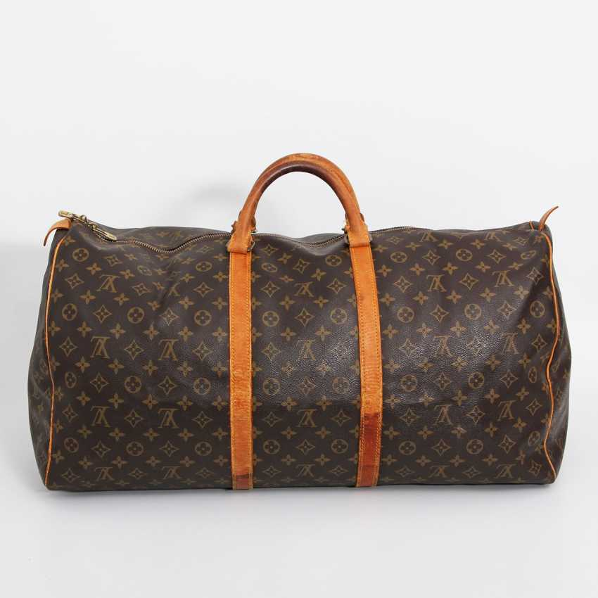 "LOUIS VUITTON classic travel bag ""KEEPALL 60"". Collection of '85. - photo 1"