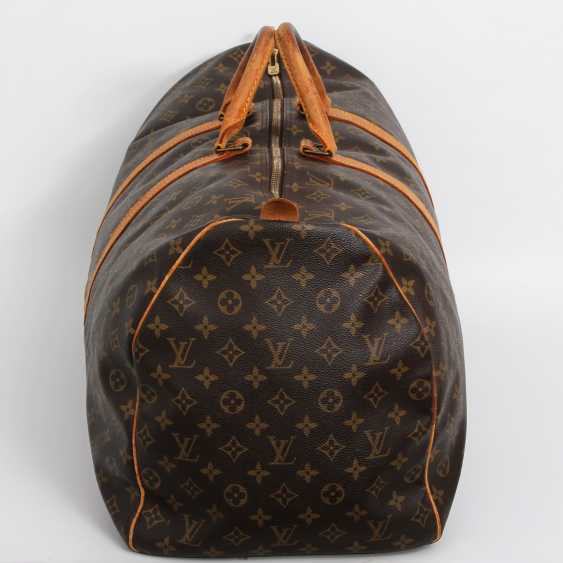 "LOUIS VUITTON classic travel bag ""KEEPALL 60"". Collection of '85. - photo 3"