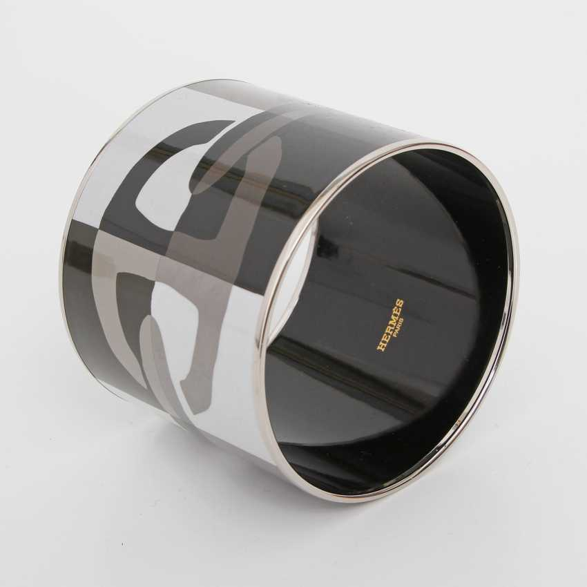 HERMÈS exclusive bangle, diameter approx 7cm, width approx: 6cm. - photo 2