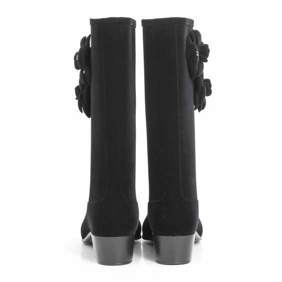 CHANEL elegant rain Boots, Size 40; - photo 4