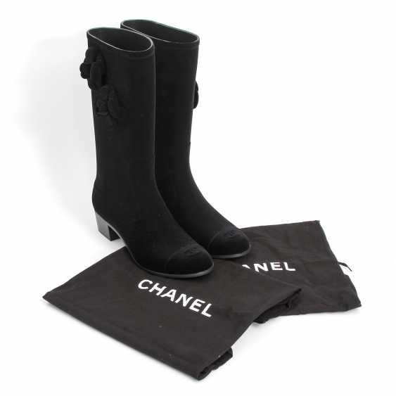CHANEL elegant rain Boots, Size 40; - photo 5