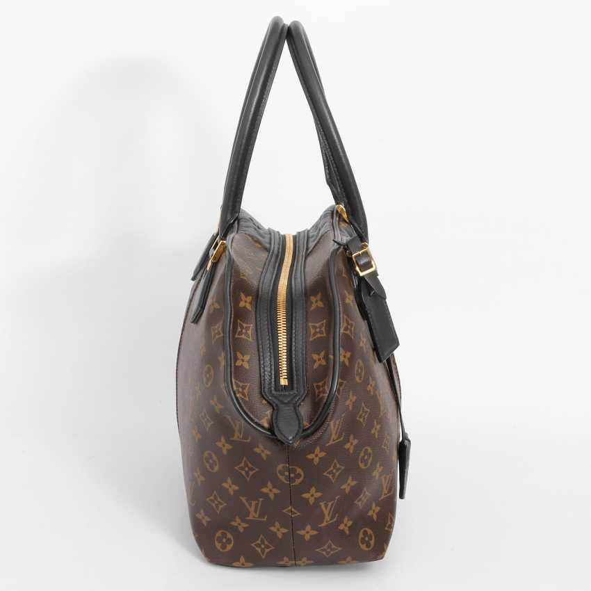 "LOUIS VUITTON exclusive sling bag ""MARINE BLOCK TOTE"", collection 2011. - photo 3"