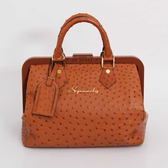 "LOUIS VUITTON, the exquisite handle bag ""SPEEDY FRAME"", collection 2009. - photo 1"