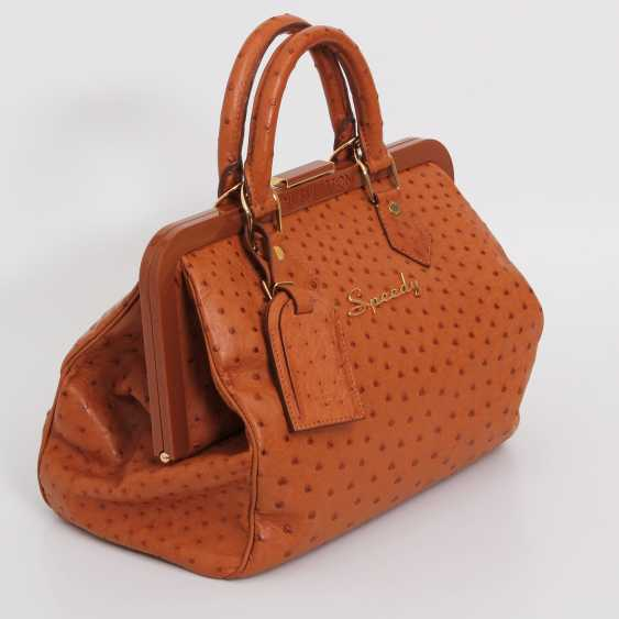 "LOUIS VUITTON, the exquisite handle bag ""SPEEDY FRAME"", collection 2009. - photo 2"