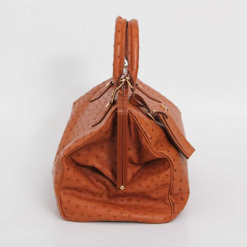 "LOUIS VUITTON, the exquisite handle bag ""SPEEDY FRAME"", collection 2009. - photo 3"