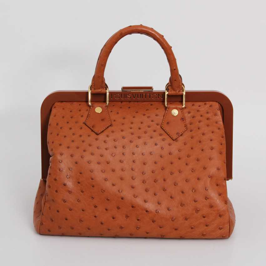 "LOUIS VUITTON, the exquisite handle bag ""SPEEDY FRAME"", collection 2009. - photo 4"