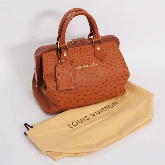 "LOUIS VUITTON, the exquisite handle bag ""SPEEDY FRAME"", collection 2009. - photo 5"