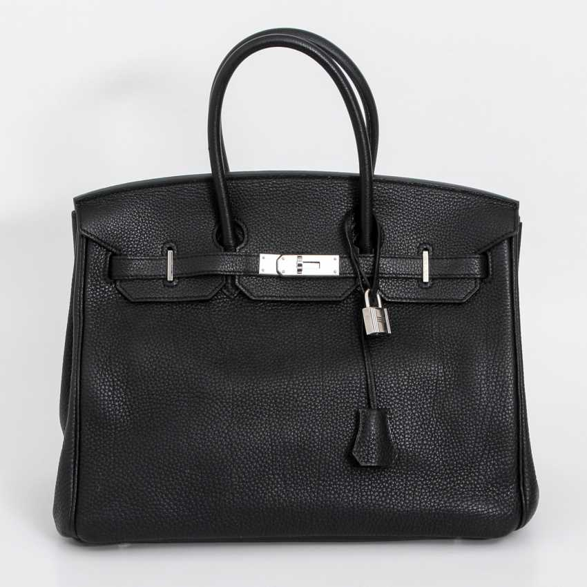 "HERMÈS exclusive It-Bag ""BIRKIN BAG 30"", collection 2011. - photo 1"