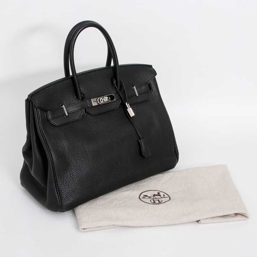 "HERMÈS exclusive It-Bag ""BIRKIN BAG 30"", collection 2011. - photo 5"