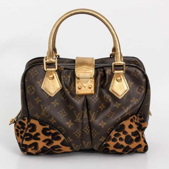 "LOUIS VUITTON, the exquisite handle bag ""ADELE LEOPARD"", the 2006 collection. - photo 1"