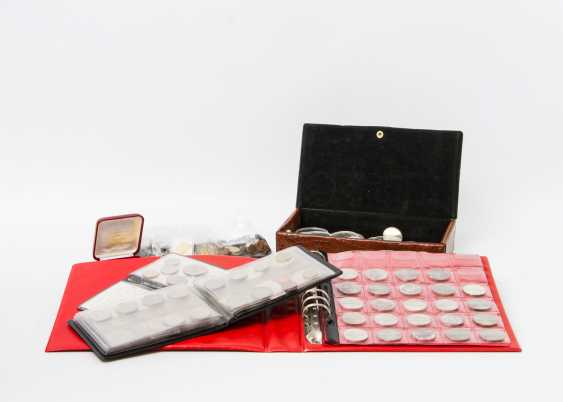 Colorful collection of coins and medals, with GOLD and SILVER - photo 1