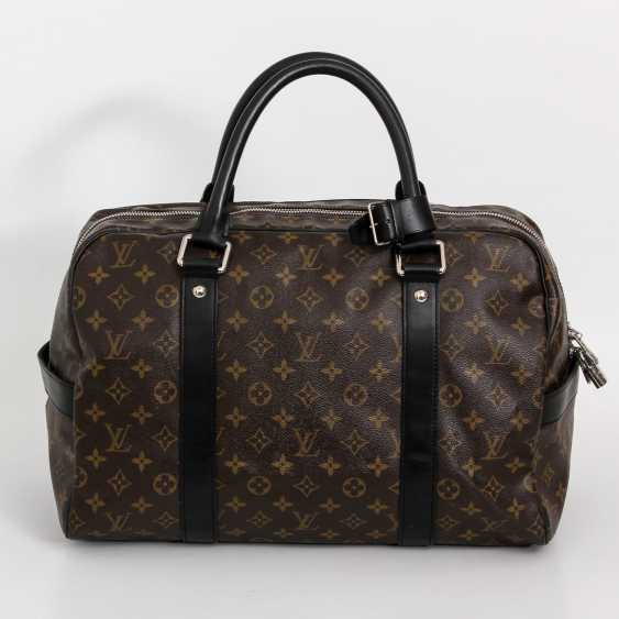 "LOUIS VUITTON rare Weekender bag, the ""CARRYALL"", collection 2006. - photo 1"