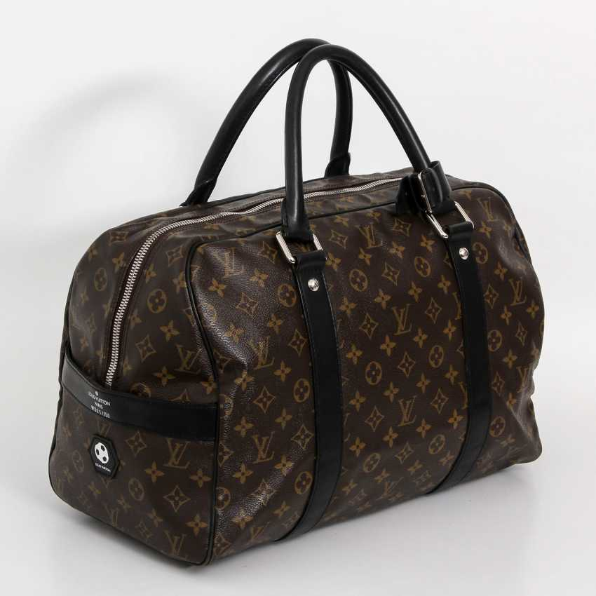 louis vuitton rare weekender tasche carryall koll 2006. Black Bedroom Furniture Sets. Home Design Ideas