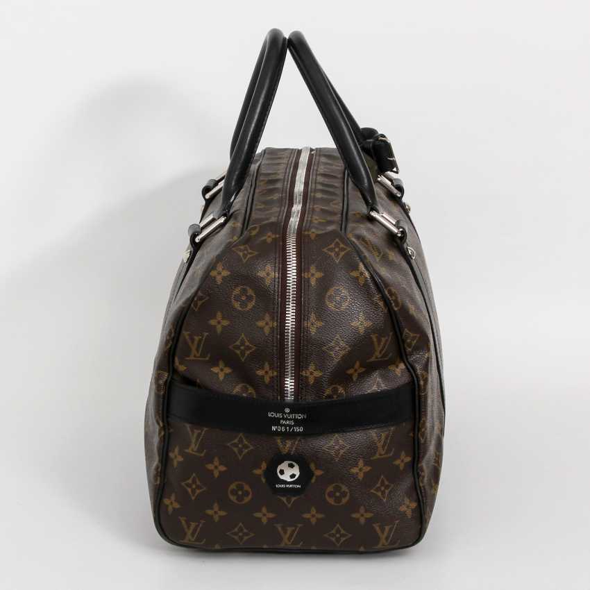 "LOUIS VUITTON rare Weekender bag, the ""CARRYALL"", collection 2006. - photo 3"