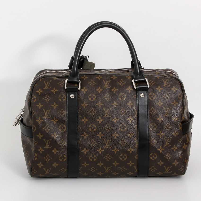 "LOUIS VUITTON rare Weekender bag, the ""CARRYALL"", collection 2006. - photo 4"