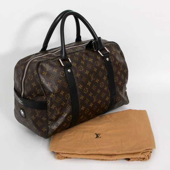 "LOUIS VUITTON rare Weekender bag, the ""CARRYALL"", collection 2006. - photo 5"