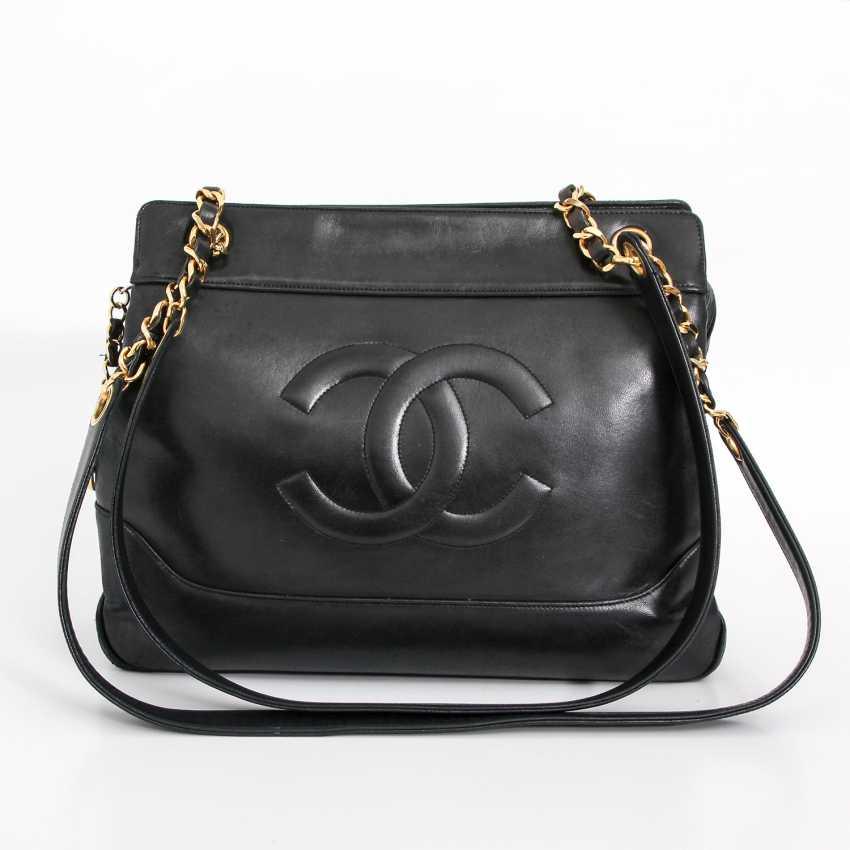 CHANEL VINTAGE elegant shoulder bag, collection, 1989-1991. - photo 1