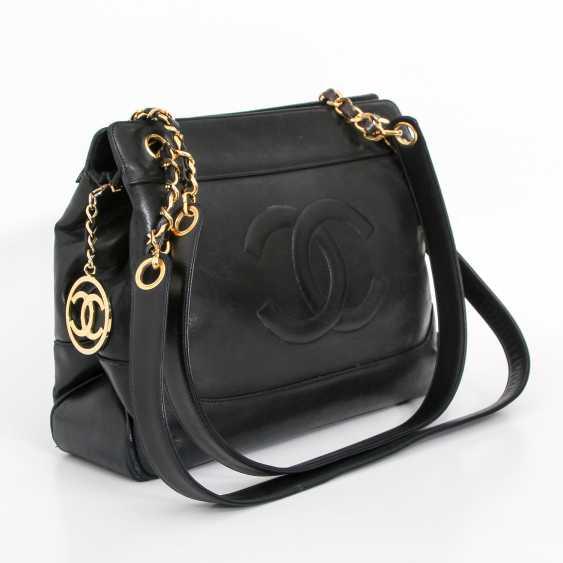 CHANEL VINTAGE elegant shoulder bag, collection, 1989-1991. - photo 2