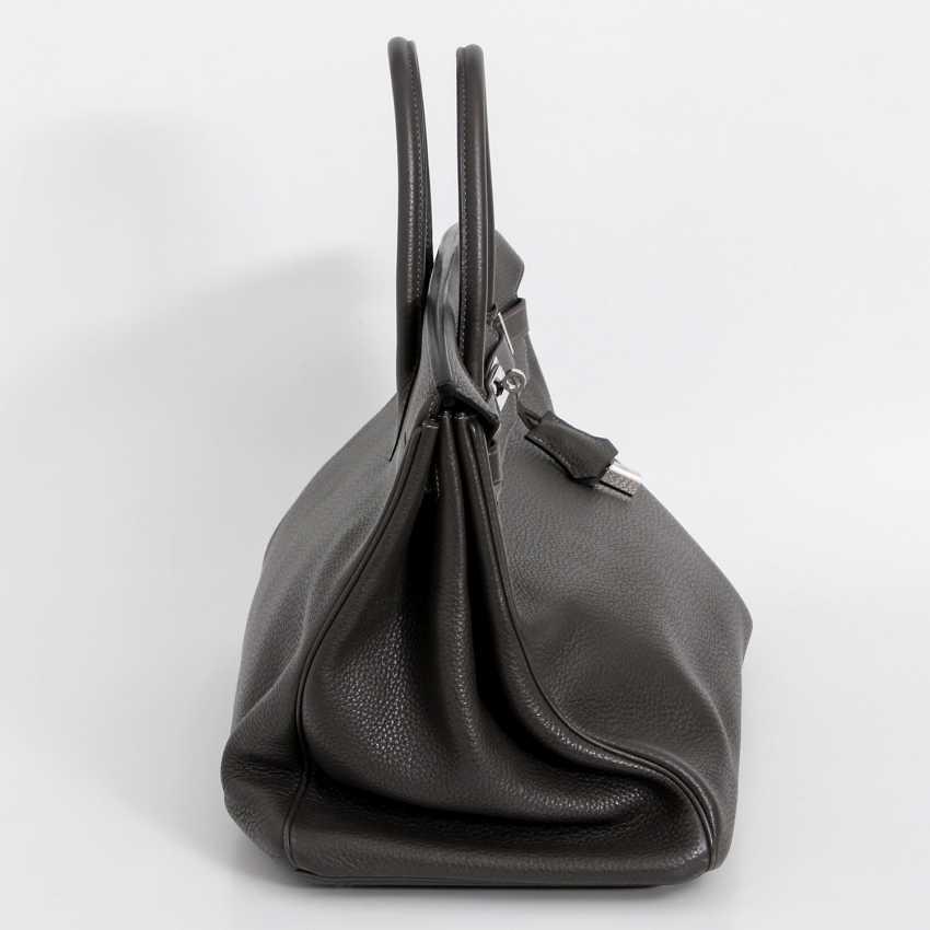 "HERMÈS noble handbag ""BIRKIN BAG 40"", collection 2011. - photo 3"