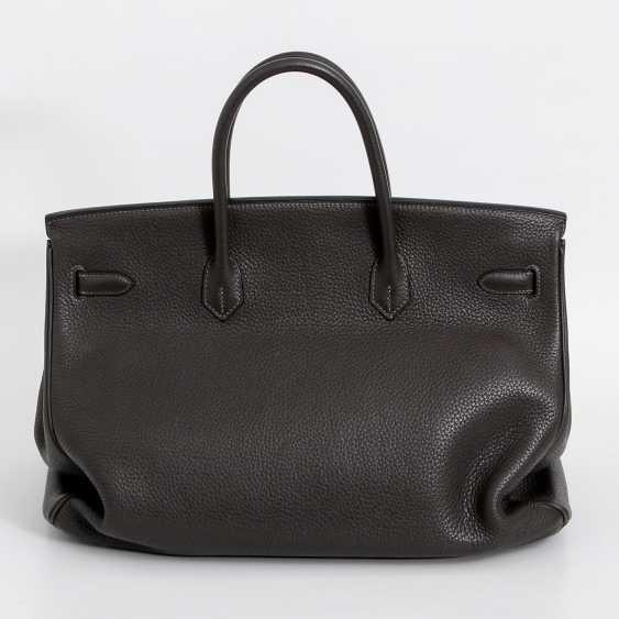 "HERMÈS noble handbag ""BIRKIN BAG 40"", collection 2011. - photo 4"