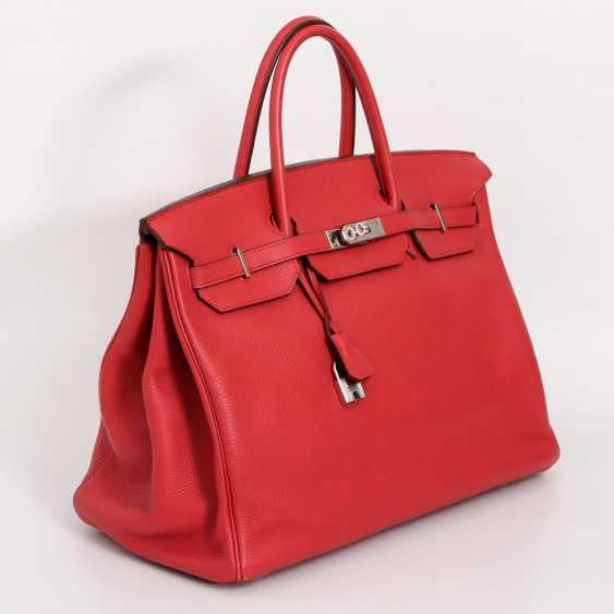 "HERMÈS exquisite handbag ""BIRKIN BAG 40"", collection 2009. - photo 2"