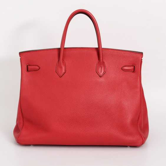 "HERMÈS exquisite handbag ""BIRKIN BAG 40"", collection 2009. - photo 4"