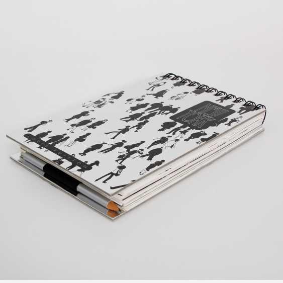 "LOUIS VUITTON elegant gray Ringbuch ""TRAVEL BOOK"". - photo 2"
