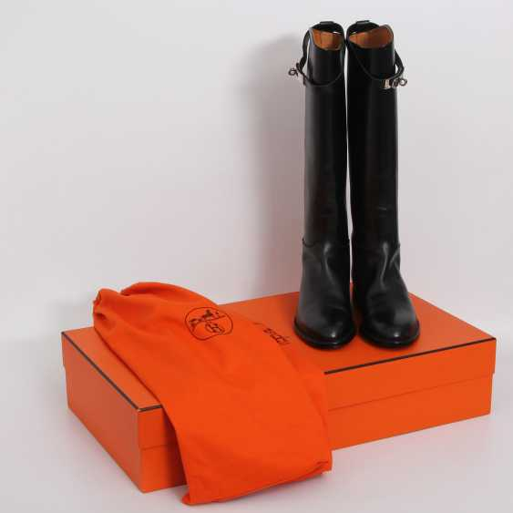 """HERMÈS timeless high boots are """"JUMPING"""", size 38. - photo 1"""
