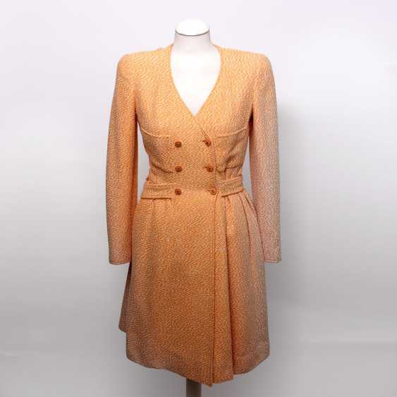 """CHANEL VINTAGE charming sheath dress, collection """"SCHIFFER"""", Size 36; - photo 1"""